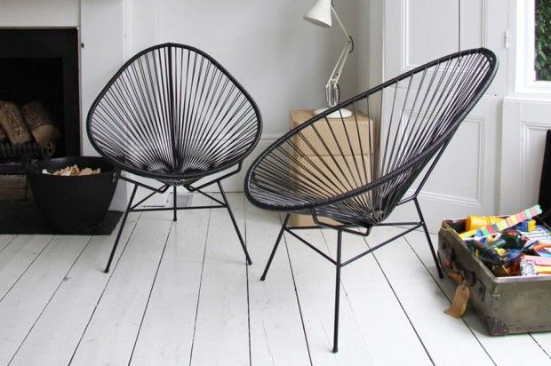 Alcapulco chair -inside and outside and surprisingly comfortable!