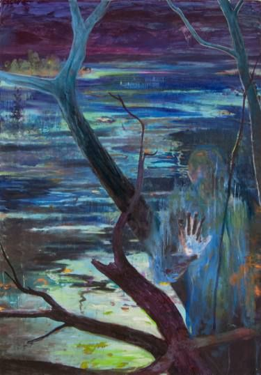 "Saatchi Art Artist Jean-Philippe Brunaud; Painting, ""I want to be (series Tired Ghosts)"" #art"