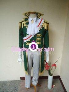 Baroque van Zieks from Dai Gyakuten Saiban Cosplay Costume front in
