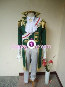 Baroque van Zieks from Dai Gyakuten Saiban Cosplay Costume front in