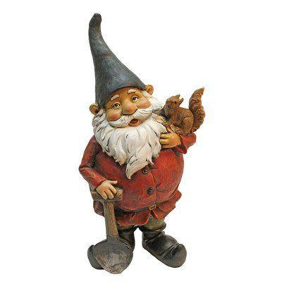 Design Toscano Digger, The Garden Gnome Statue