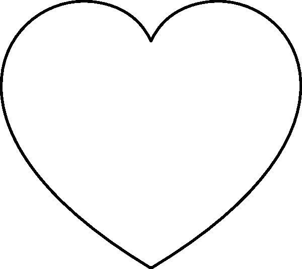 coloring pages heart shapes - photo#8