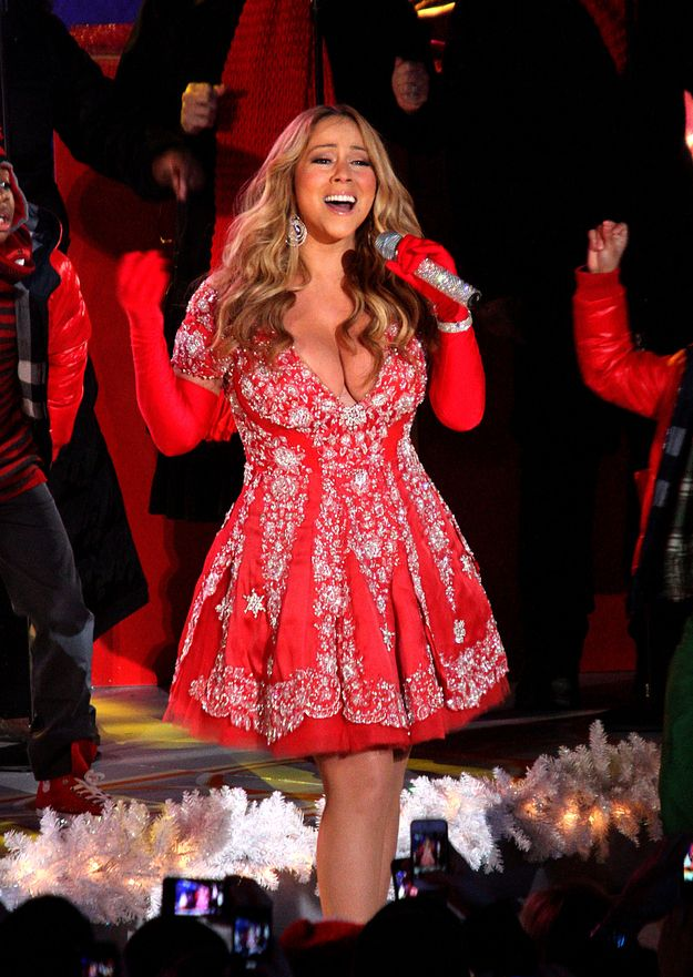 It's Officially Christmastime Because Mariah Carey Is In Her Christmas  Clothes | Santa Baby | Pinterest | Mariah carey, Singer and Nick cannon - It's Officially Christmastime Because Mariah Carey Is In Her