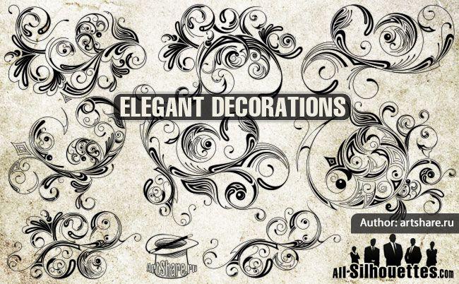 Free vector 9 elegant decoration #5610