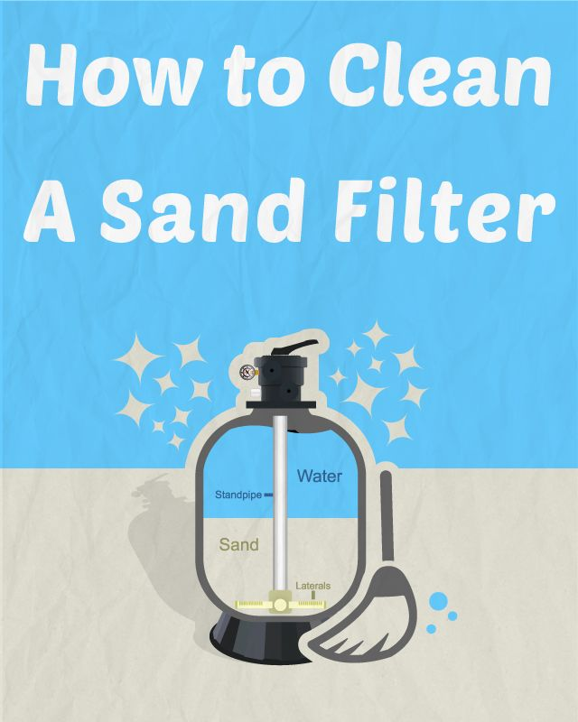 How To Clean A Sand Filter Cleanses Pools And Sands