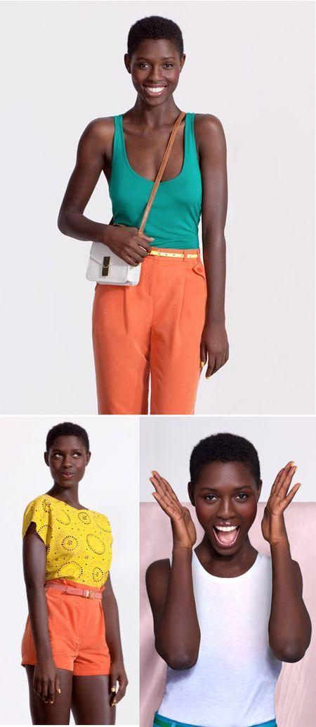 Sassy Asos model (via @Andrea Pippins)