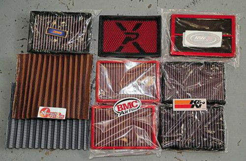 Aftermarket Motorcycle Air Filter Shootout ! Which one is The Best ?