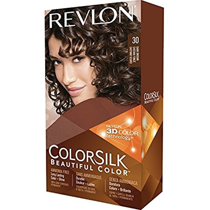 Revlon ColorSilk Hair Color, 30 Dark Brown 1 ea (Pack of 5) *** More info could be found at the image url. (This is an affiliate link and I receive a commission for the sales)