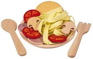Plan Toys houten keuken accessoires Spaghetti Houten keukentje Baby & Peuter