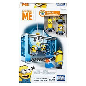 Check out the Mega Bloks® Despicable Me™ Factory Fiasco (DKX76) at the official Mattel Shop website. Explore the world of Mega Bloks today!