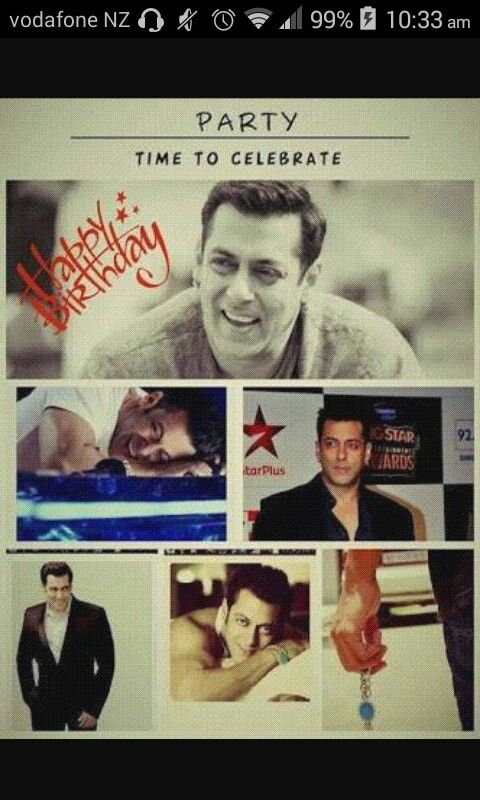 how can I miss u today ur my life n my life has his birthday today party hard love u salman ur wellwisher