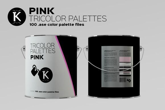 Best Pink Tricolor Palettes