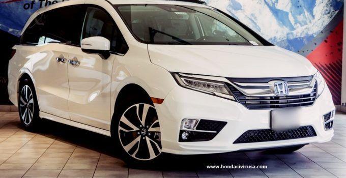 2019 Honda Odyssey Elite Redesign And Review Honda Civic Honda Odyssey Honda