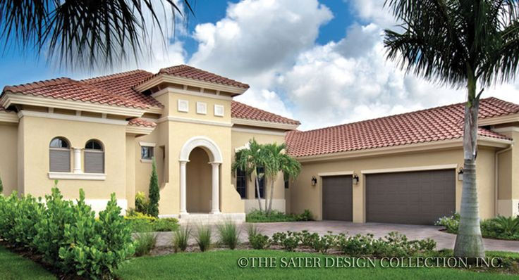 54 Best Images About Italian Home Plans The Sater Design