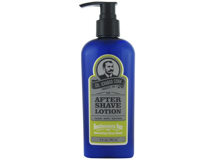 Colonel Conk Southwestern Sun Aftershave. Treat yourself to sunshine in a bowl with this refreshing citrus blend. Available at House of Knives.