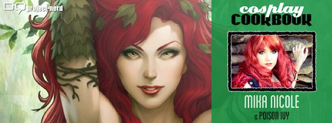 I've been cast as Poison Ivy for this awesome Cosplay cookbook! Please help spread the word and share share share!  My page is www.facebook.com/mikanicolecosplay  #CosplayCookbook #cosplay #cookbook #CookBook #Batman #PoisonIvy #poisonivy #dc #dccomics #DcComics #BatmanVillains #villain #sexy #redhead #RedheadGirl