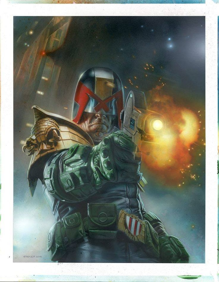 Judge Dredd by Greg Staples