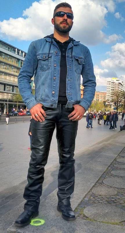 36 best cuero images on Pinterest | Leather fashion, Men's leather ...