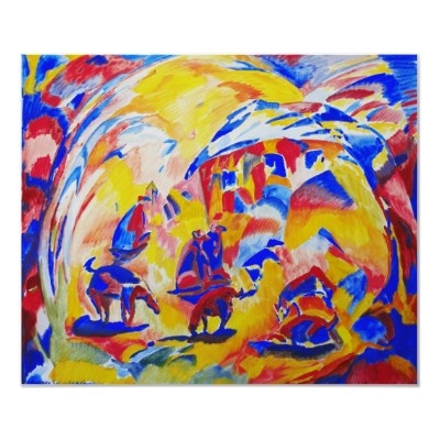 Dogs by artist andrey Soldatenko. Poster from zazzle