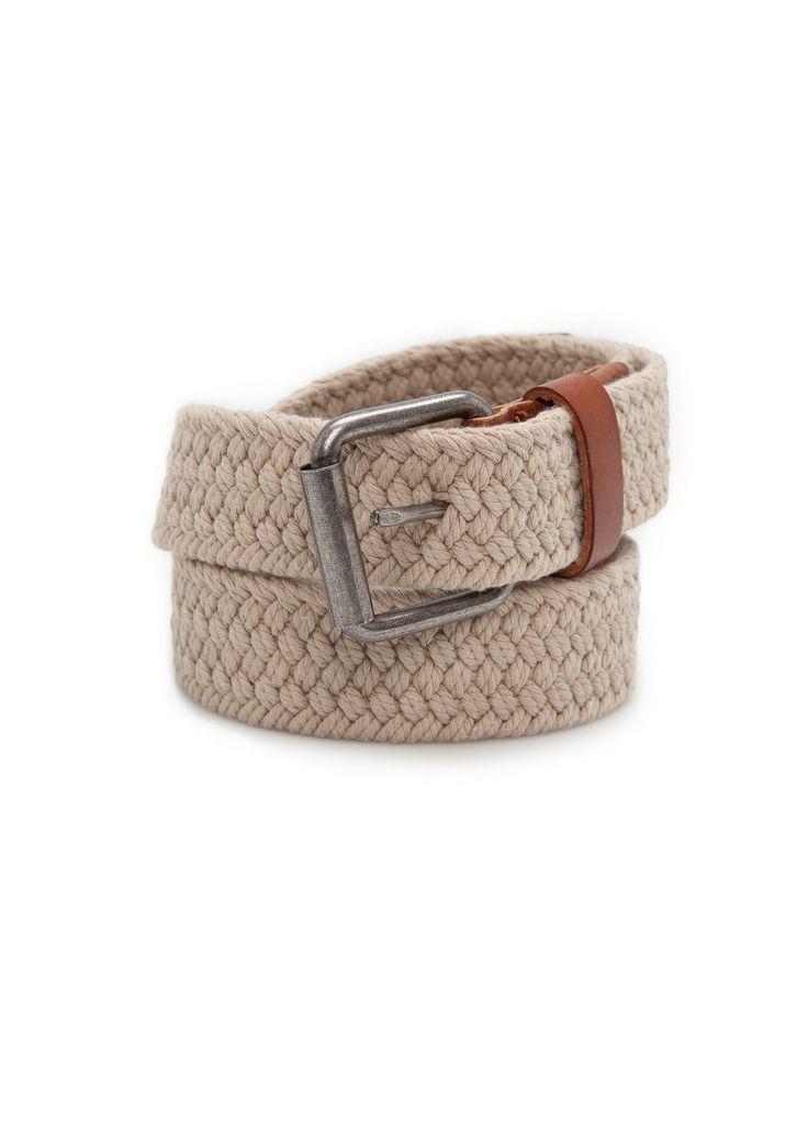 Braided cotton belt REF. 23093521 - Trenza c VND749,000 Colour: Beige