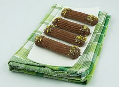 Chocolate-Hazelnut Spritz Cookies