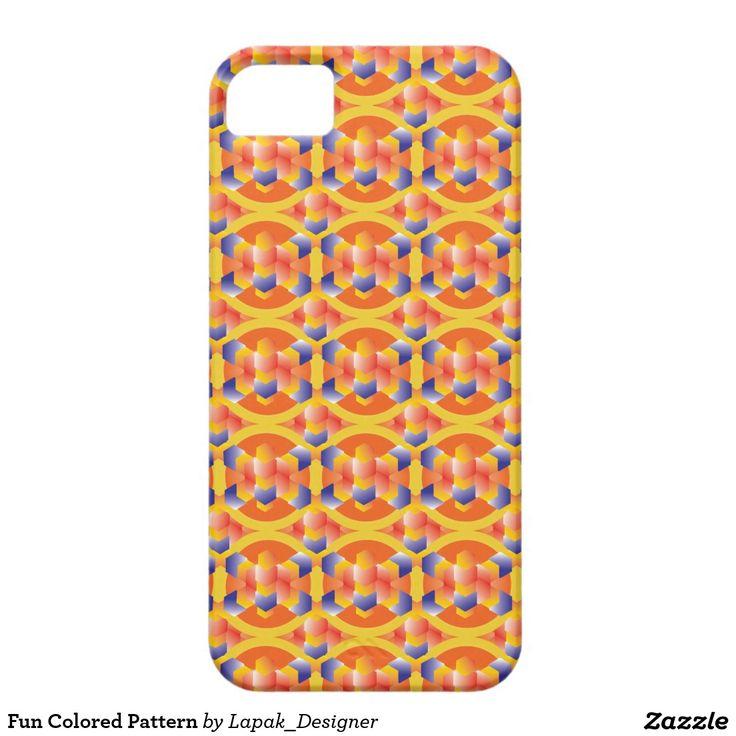 Fun Colored Pattern iPhone SE/5/5s Case