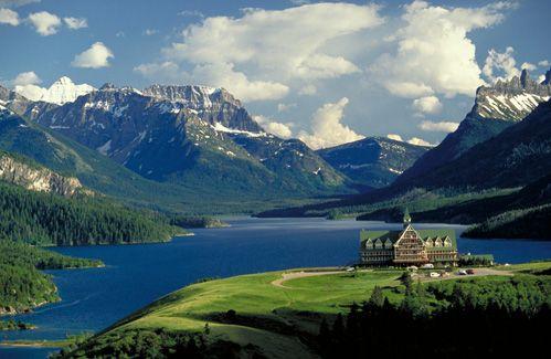 Waterton, Canmore, Banff in Alberta, Canada