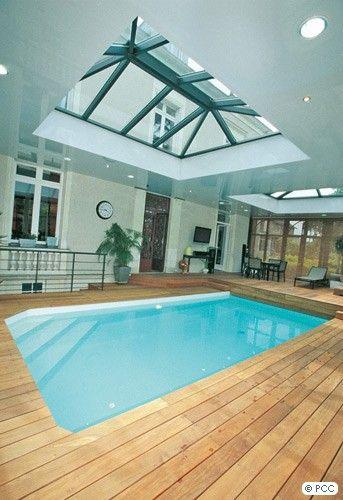 17 meilleures id es propos de piscines int rieures sur for Piscines interieures