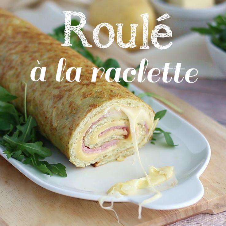 Roulé au fromage raclette
