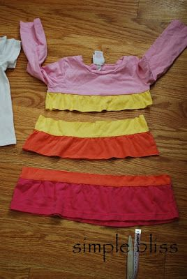 Simple Bliss: Repurposing Baby Clothes