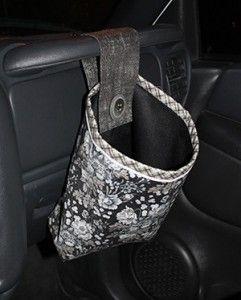 Car Storage Bag >> Car Trash Bag Pattern – FREE PATTERNS