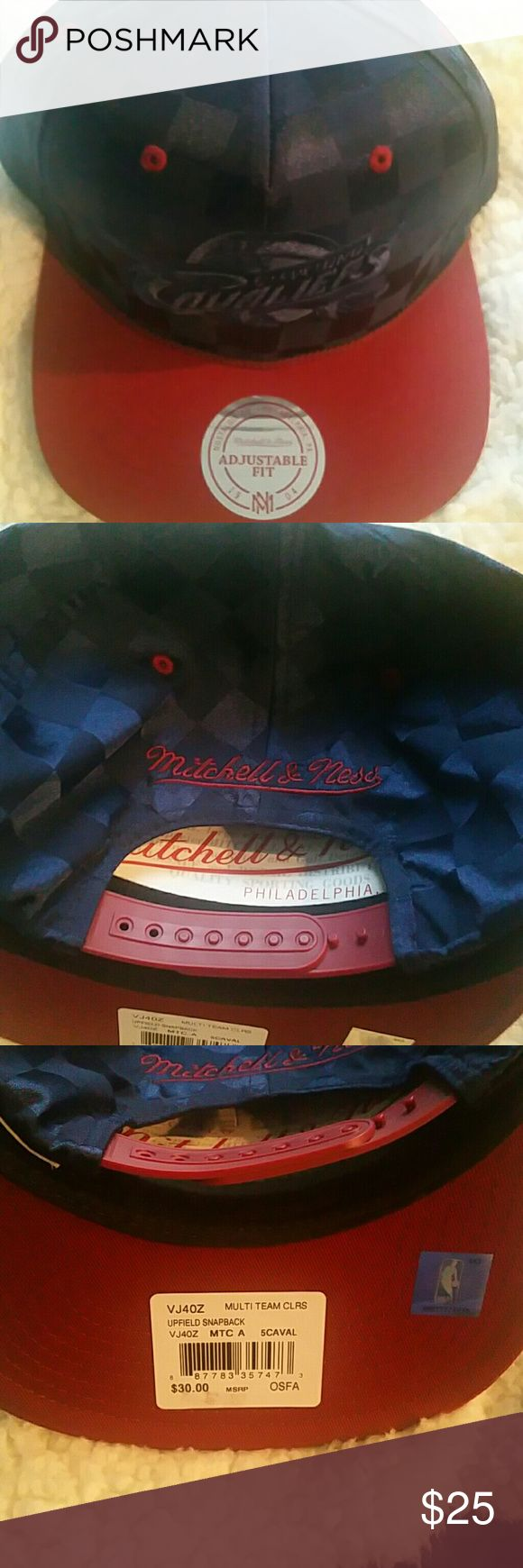Mitchell and Ness snapback hat New Cleveland Cavaliers snapback Mitchell & Ness Accessories Hats