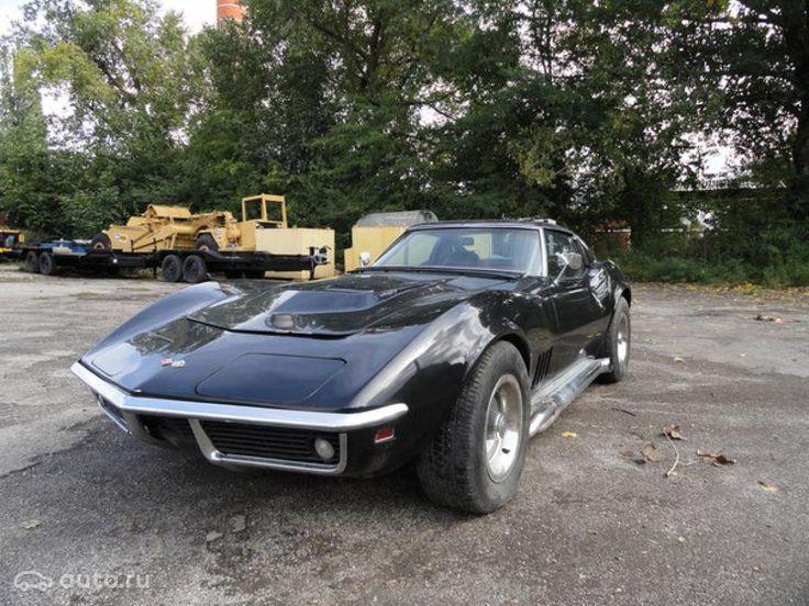 Купить Chevrolet Corvette C3 с пробегом в Москве: Купе Шевроле Корвет 1968 года, 7.0 MT (435 л.с.), цена 3 179 000 рублей — Авто.ру