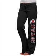 Utah Utes Womens Frosh Fleece Sweatpants - Black