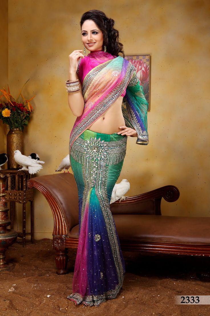 model saree3