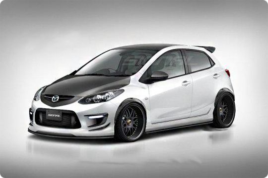 mazda 2 tuning car spotting pinterest mazda cars. Black Bedroom Furniture Sets. Home Design Ideas