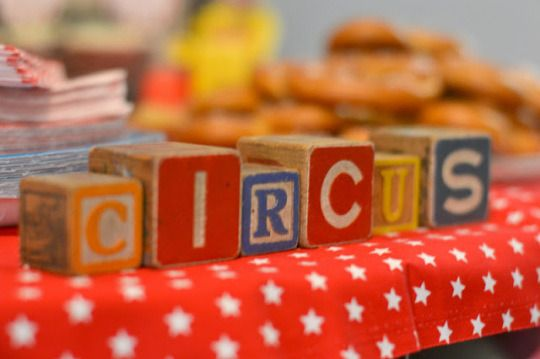 a vintage circus birthday party