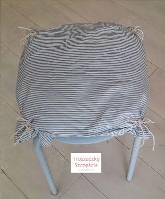 Troszeczkę Szczęścia: • Poduszka na krzesło/taboret •