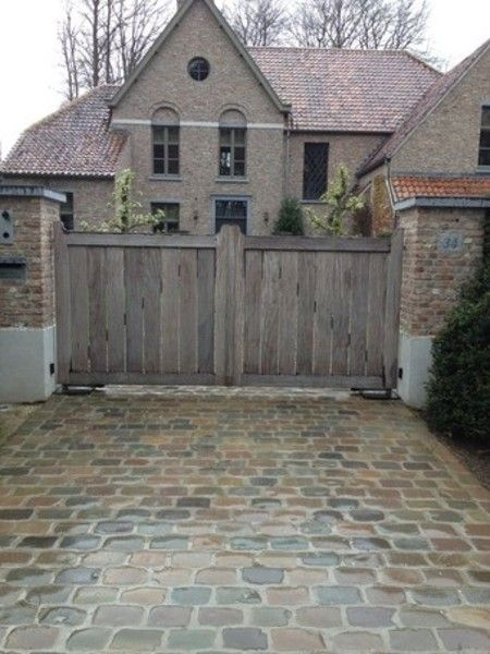 English Manor Stone House Natural Landscaping Ideas