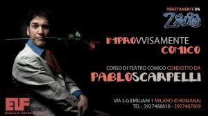 CORSO DI TEATRO COMICO con PABLO SCARPELLI a ELF TEATRO