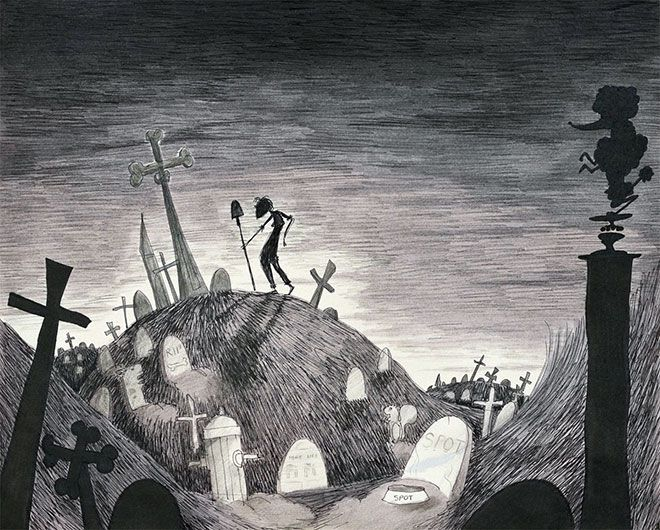 Concept Art Offers Peek at Tim Burton's Twisted Genius | Underwire | Wired.com
