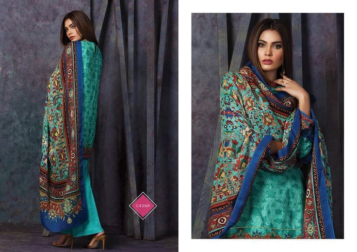 Kayseria Winter Collection Shalwar Kameez 2018 - Fashionvilas.com