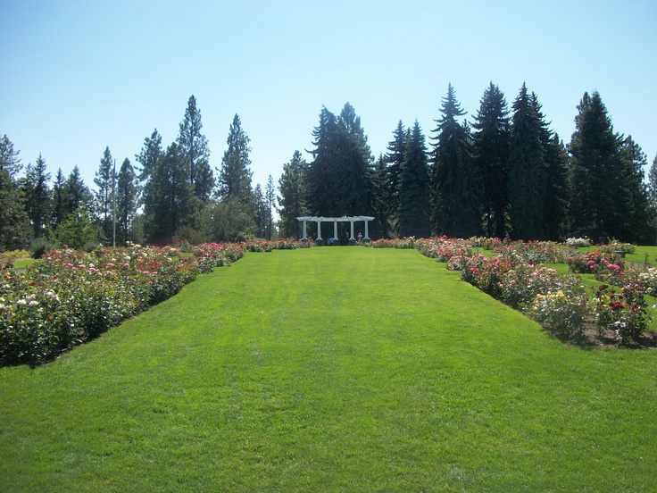 Manito Park Rose Garden Spokane Wa Garden Botanical Pinterest Gardens Getting Married