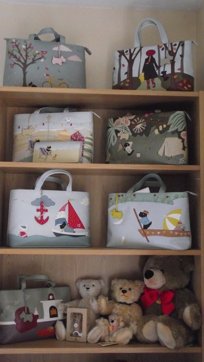 My 'look but do not touch' Radley Handbags!