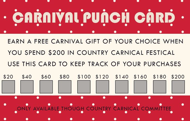 50 Punch Card Templates For Every Business Boost Within Business Punch Card Template Free Card Templates Free Holiday Photo Cards Template Punch Cards