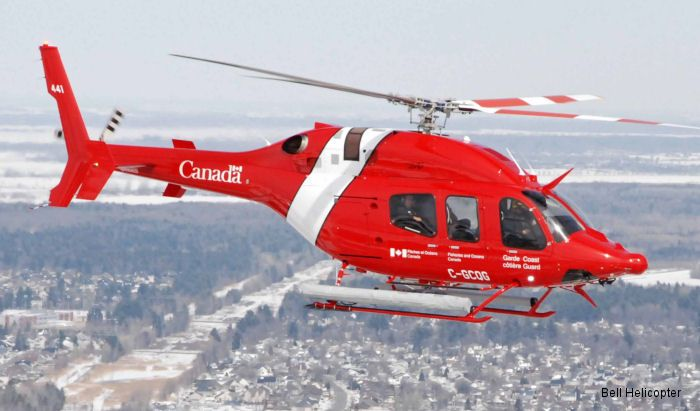 Bell 412EPI in Canada / Canadian Coast Guard Coast Guard First 429 and 412EPI Ordered, 10-Apr-15 : Canadian Coast Guard ordered 7 Bell 412EPI and received first of 15 Bell 429 awarded in May 2014