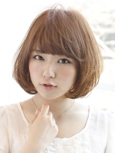Sweetボブ:ショート Japanese Lady Hair Girls And Bobs