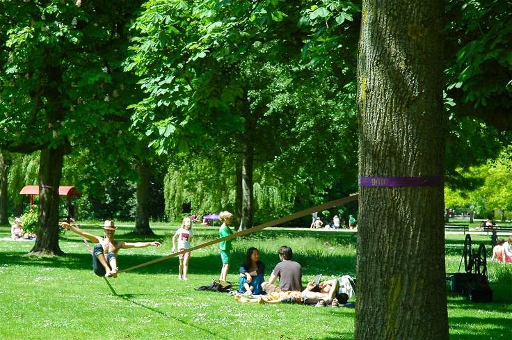 (Wester) Park Life in sunny Amsterdam.