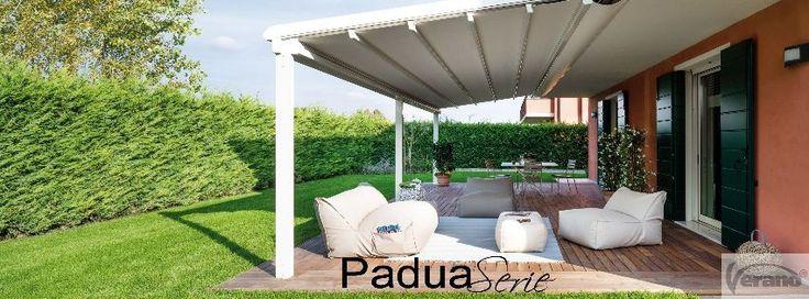 Terrasvouwdak V646 Padua Quadra van Verano® BE  #Patio #Verano #Padua #Terrace #Pergola