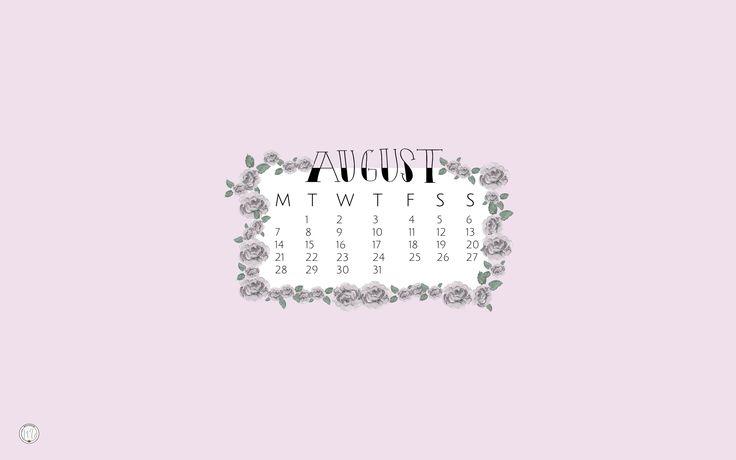 Fond d'écran ordinateur pour le mois d'août 2017 ! 2017 August computer background | #background #wallpaper #gratuit #free #freebies #illustration #graphism #inspiration #flowers #flower #aout #august #mailyseven
